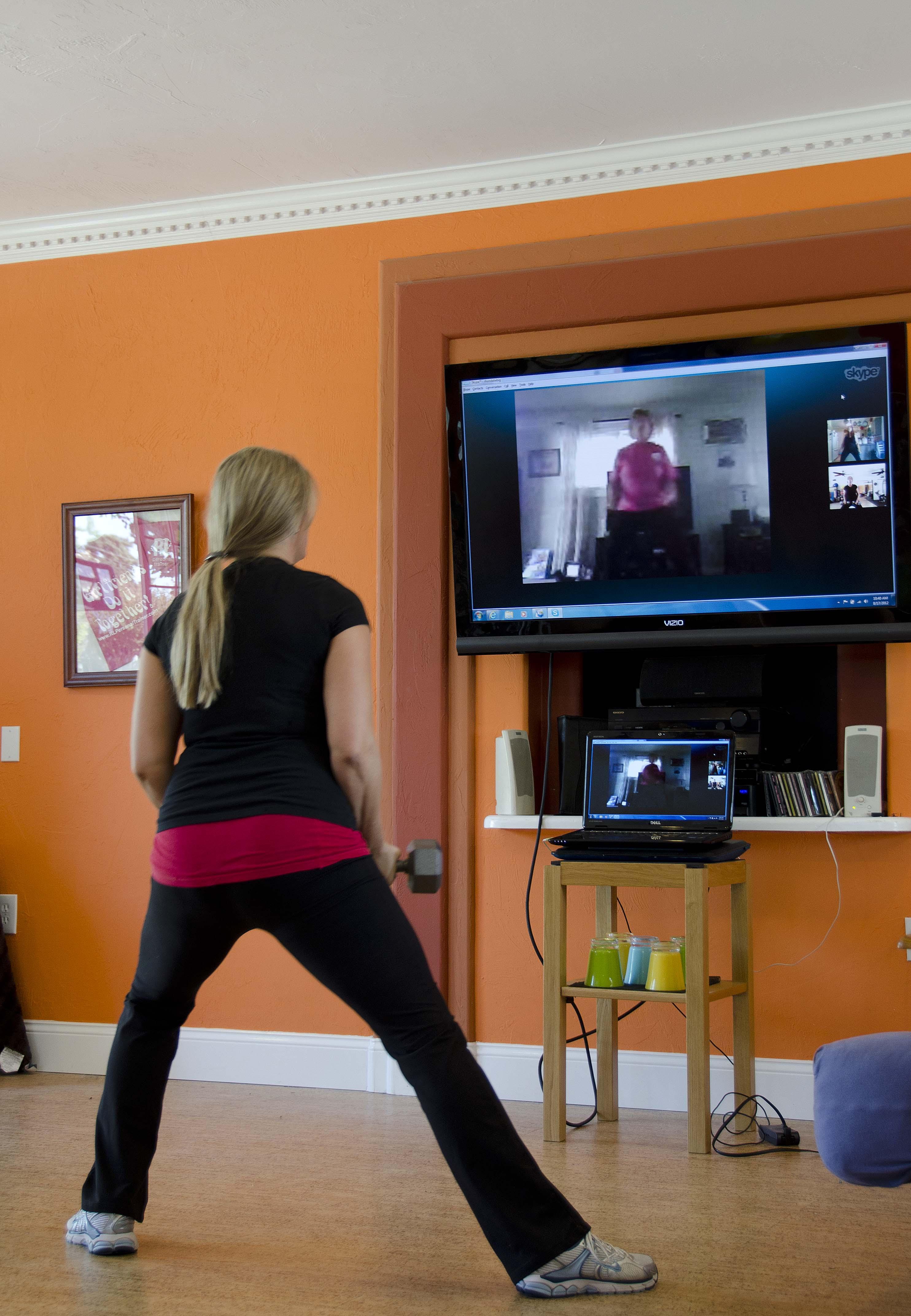 Skype Workout