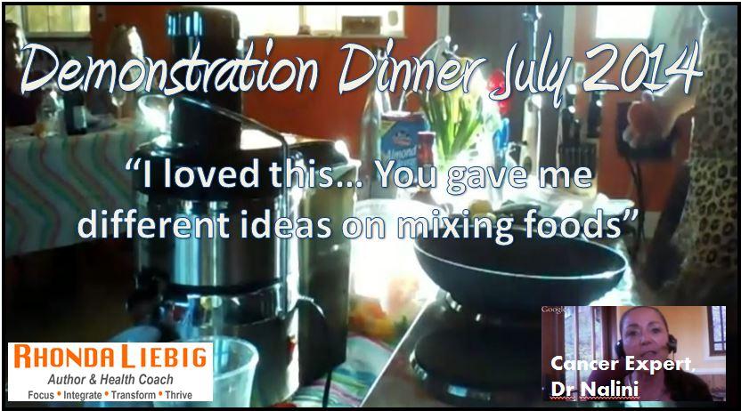 July Dinner Logo