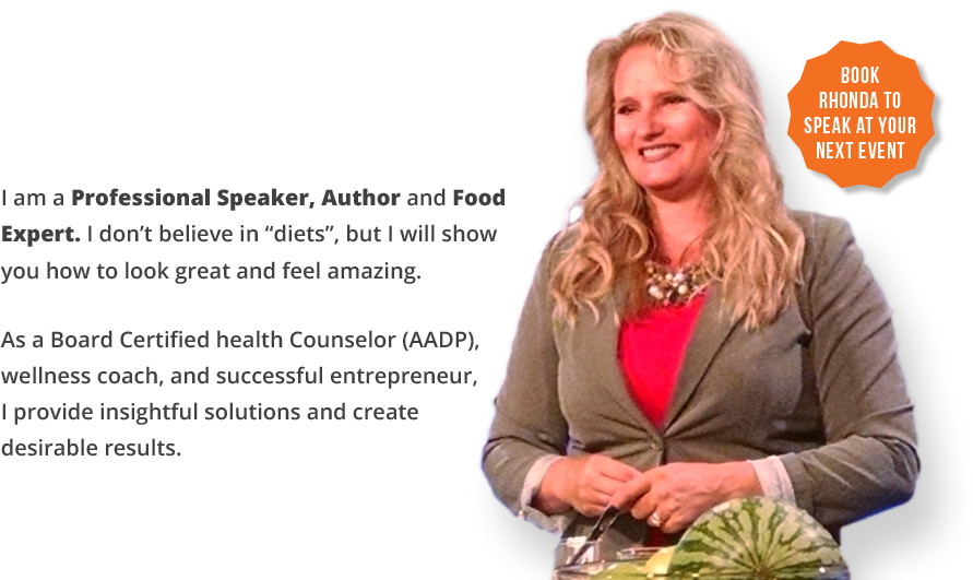 Book Rhonda to Speak at your next event!