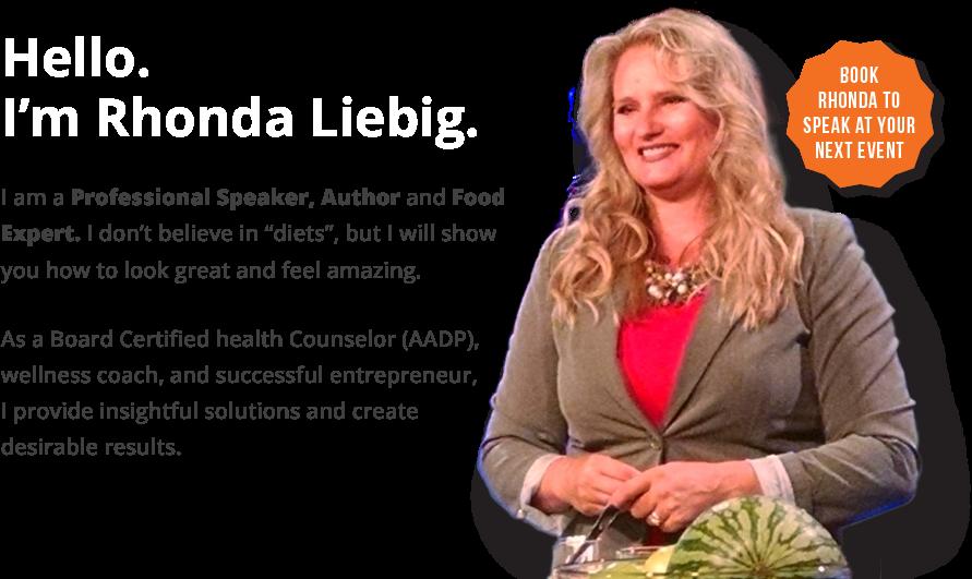 Book Rhonda to Speak at your next event!