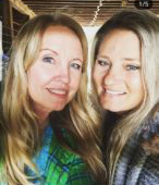 Rhonda Liebig_Laura-and-me-on-her-ranch